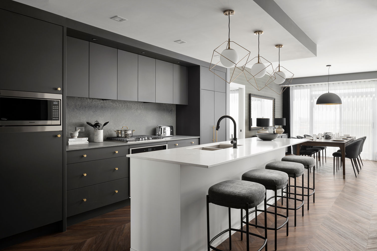 The Pinnacle Suite at Gateway - Gourmet Kitchen - TRUMAN
