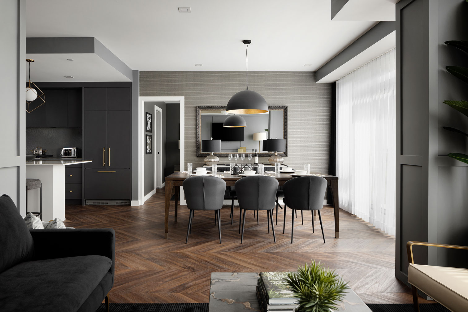 The Pinnacle Suite at Gateway - Dining Room - TRUMAN