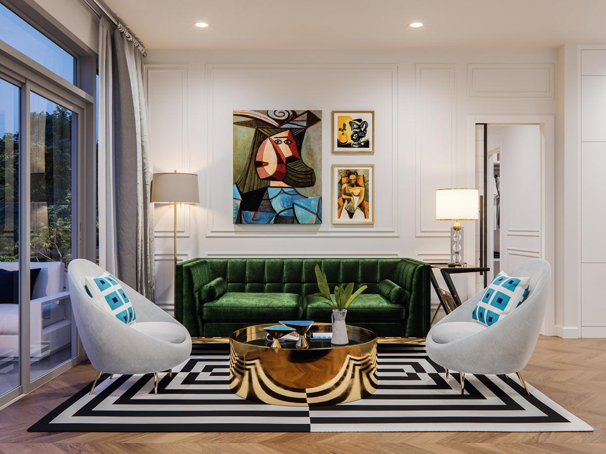 Gateway - Condo - Interiors - LA Palette