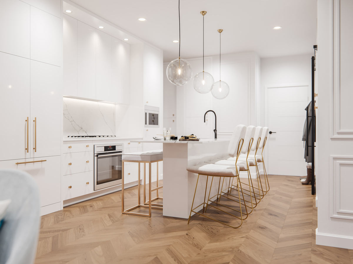 Gateway - Condo - Interiors - LA Palette Kitchen