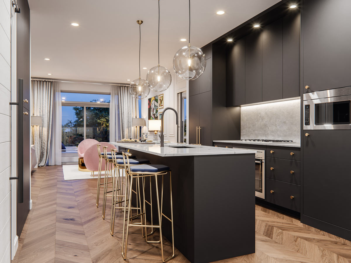 Gateway - Condo - Interiors - NY Palette