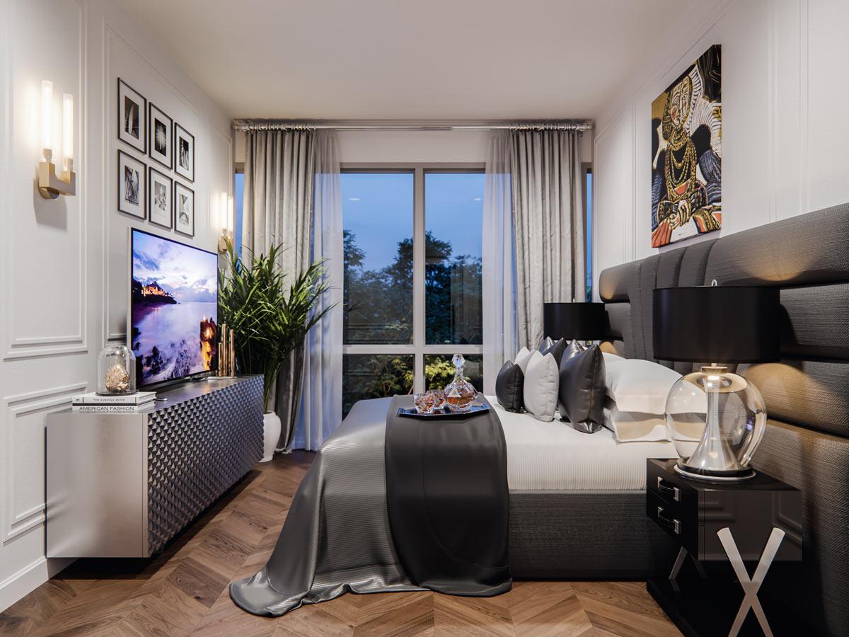 Gateway - Condo - Interiors - Bedroom
