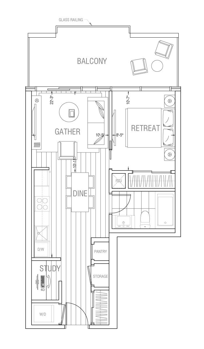 Gateway - Residence 1A