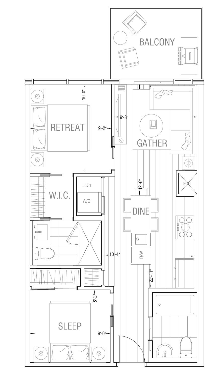 Gateway - Residence 2A