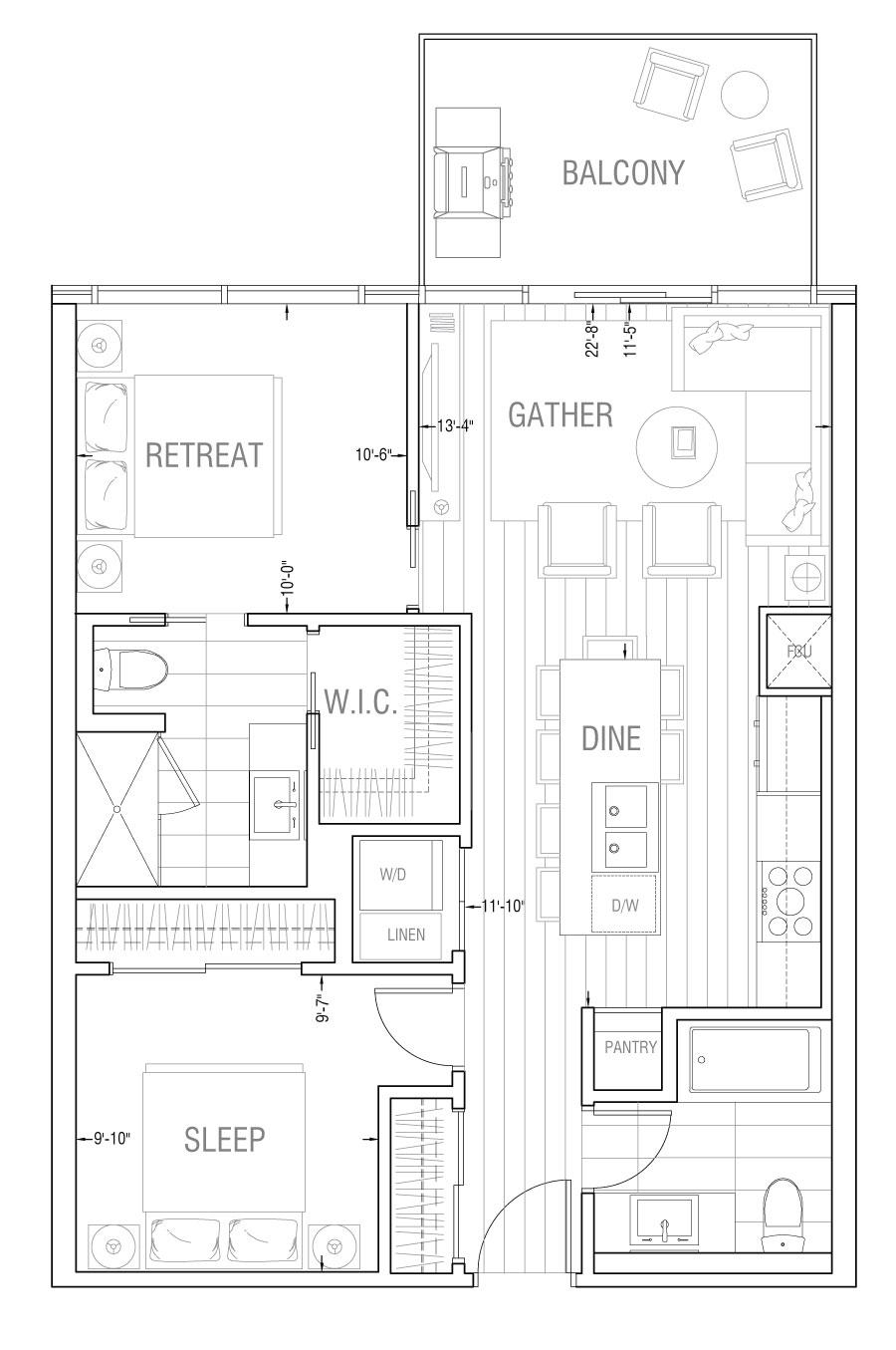 Gateway - Residence 2B