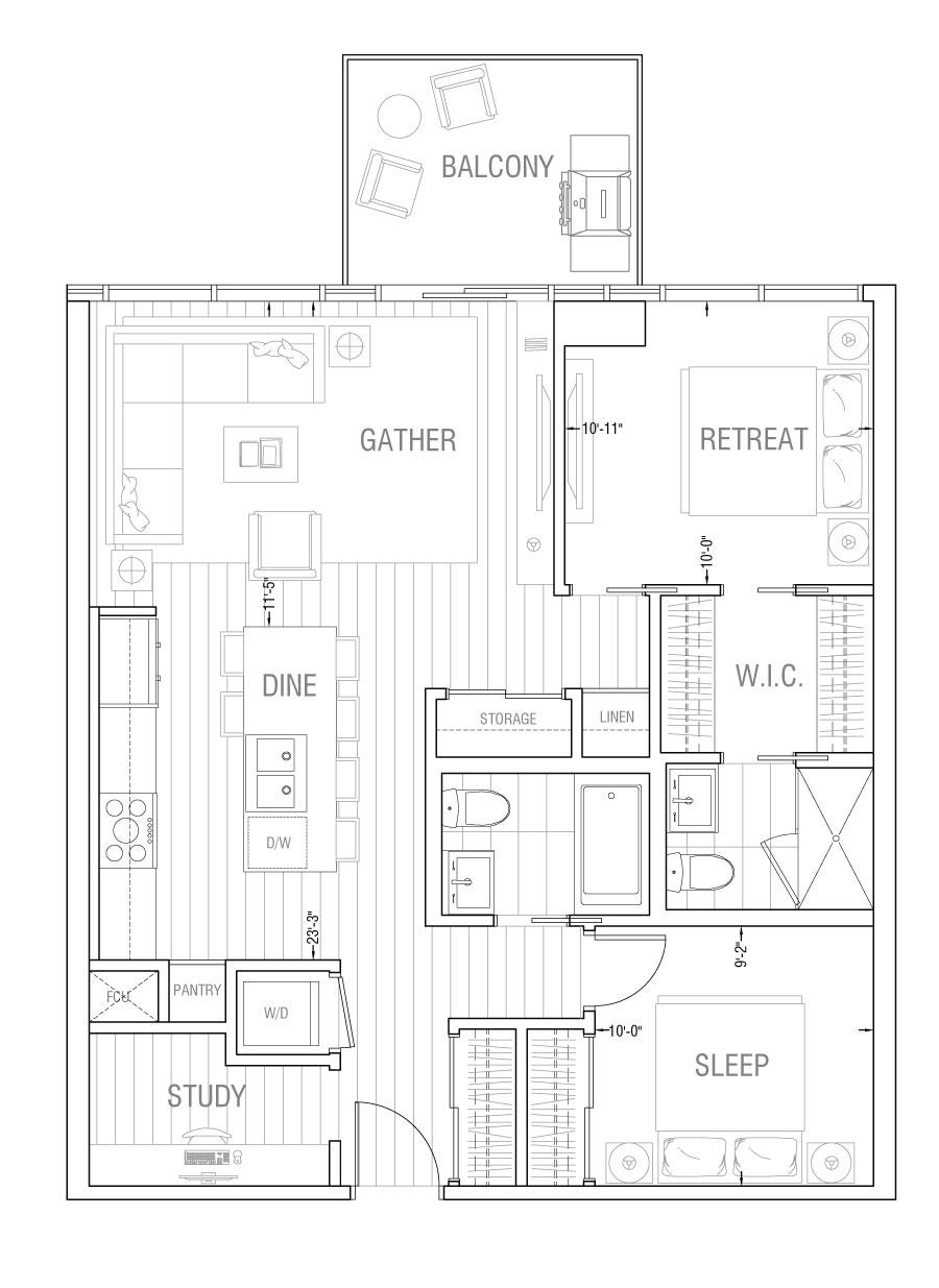 Gateway - Residence 2D