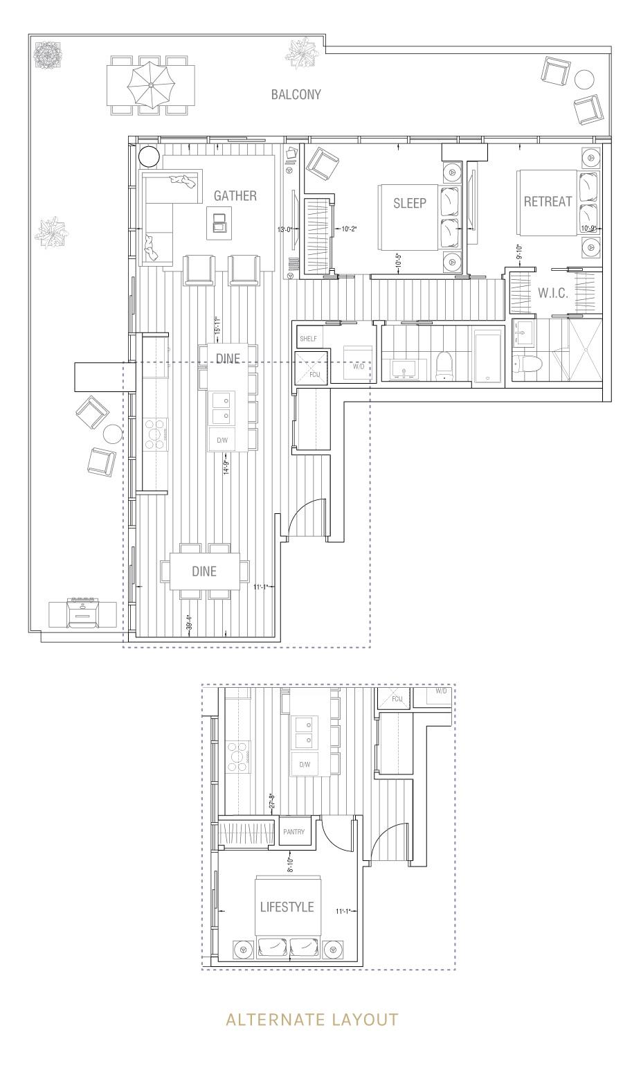 Gateway - Residence 2F