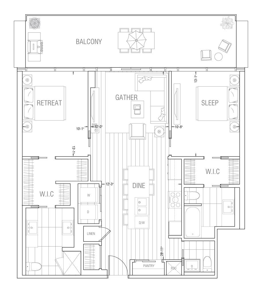 Gateway - Residence 2H
