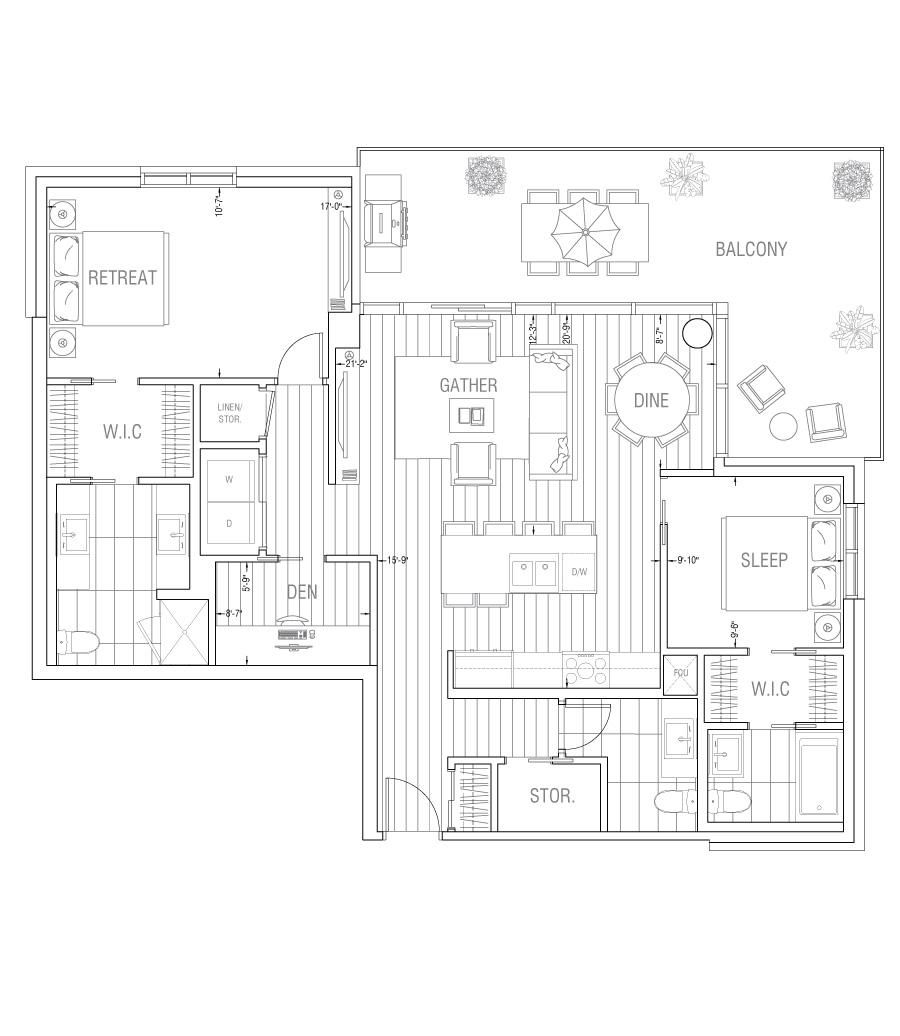 Gateway - Residence 2J