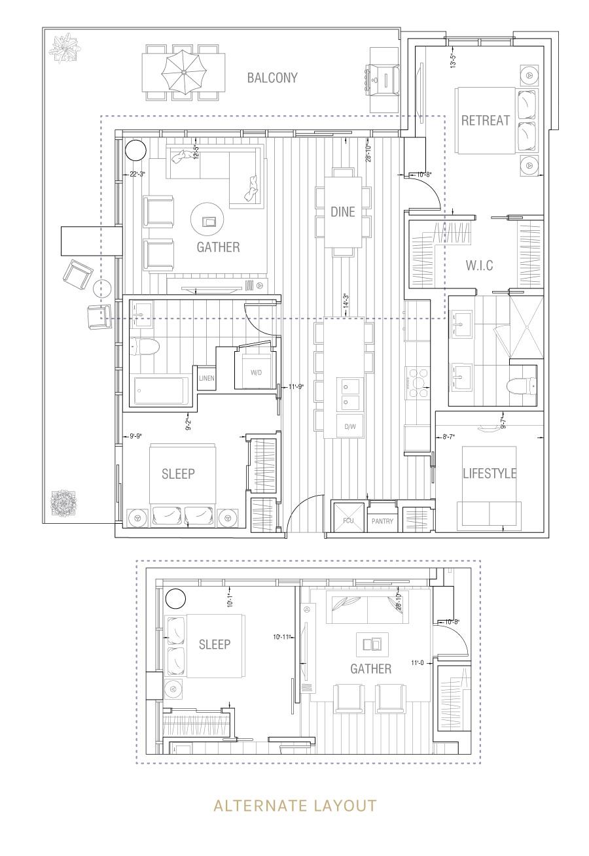Gateway - Residence 2L