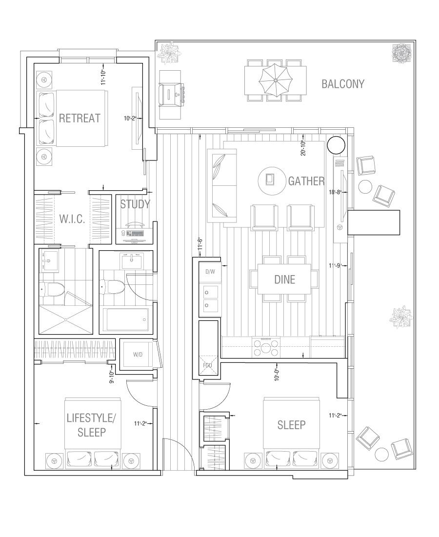 Gateway - Residence 3A