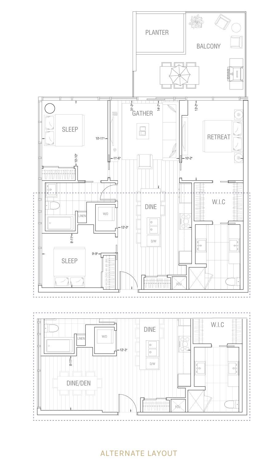 Gateway - Residence 3B