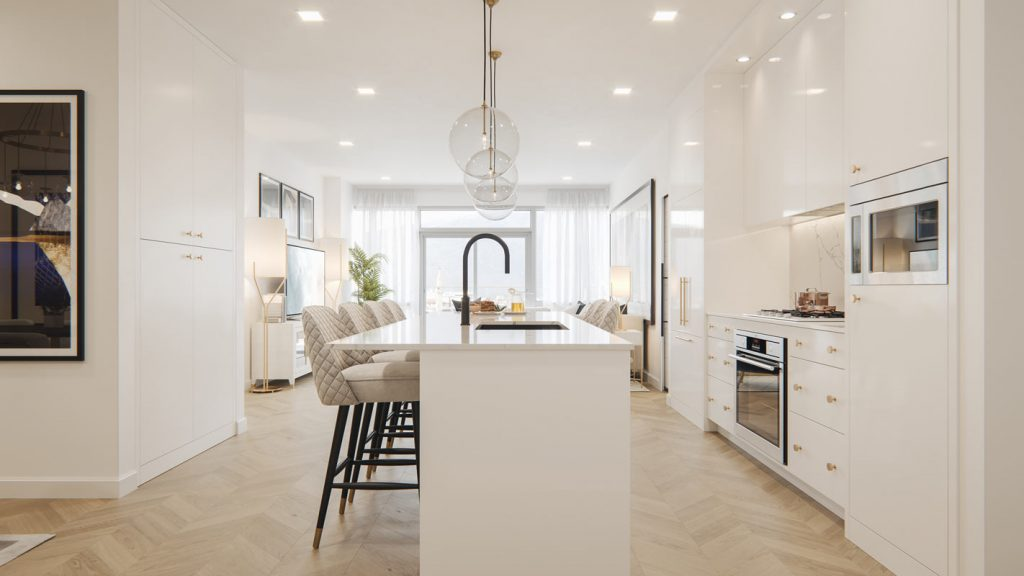 Gateway - Condo - Interiors - LA Palette Kitchen