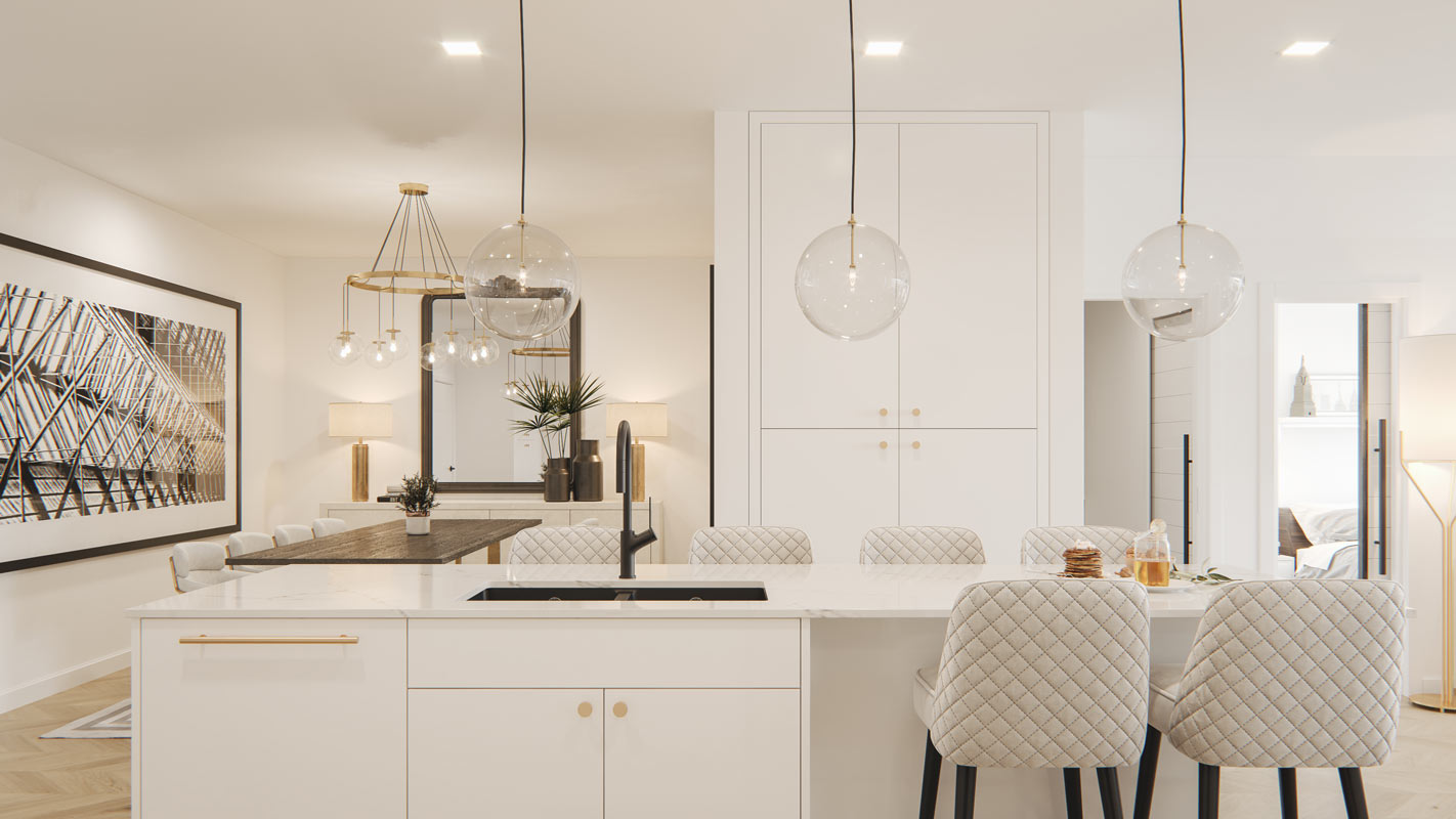 Gateway - Condo - Interiors - Dining Room
