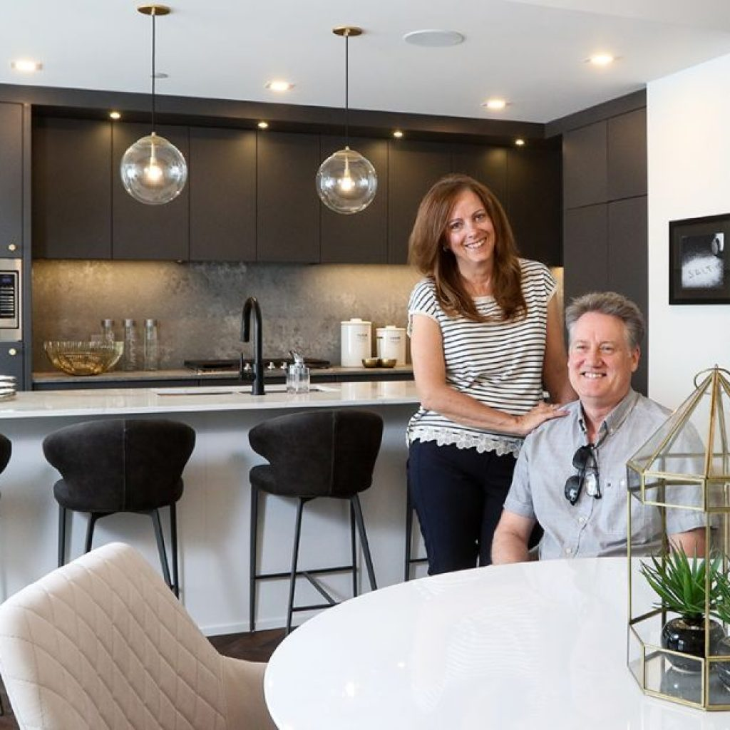 Susan and Ashley Nicolas are downsizing and discovered the location and lifestyle offered at Gateway by Truman Homes in West District fit their needs perfectly. - PHOTO CHRISTINA RYAN