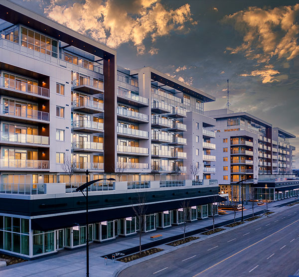 Gateway Condos in S.W Calgary at West District