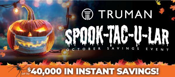 2021 Spooktacular Savings