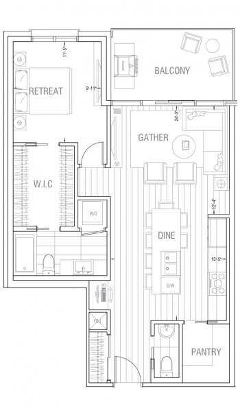Gateway – Residence 1D