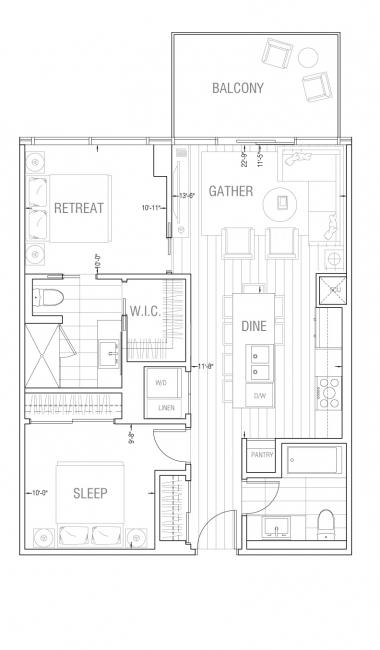 Gateway - Residence 2C